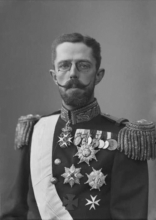 King Gustav V of Sweden