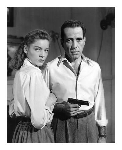 "Bacall & Bogart in ""Key Largo"", 1948"
