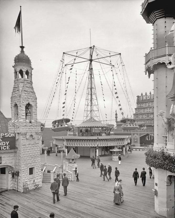 Luna Park, Coney Island, NYC,1904