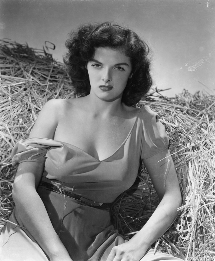 "Jane Russell in ""Outlaw"", 1943"