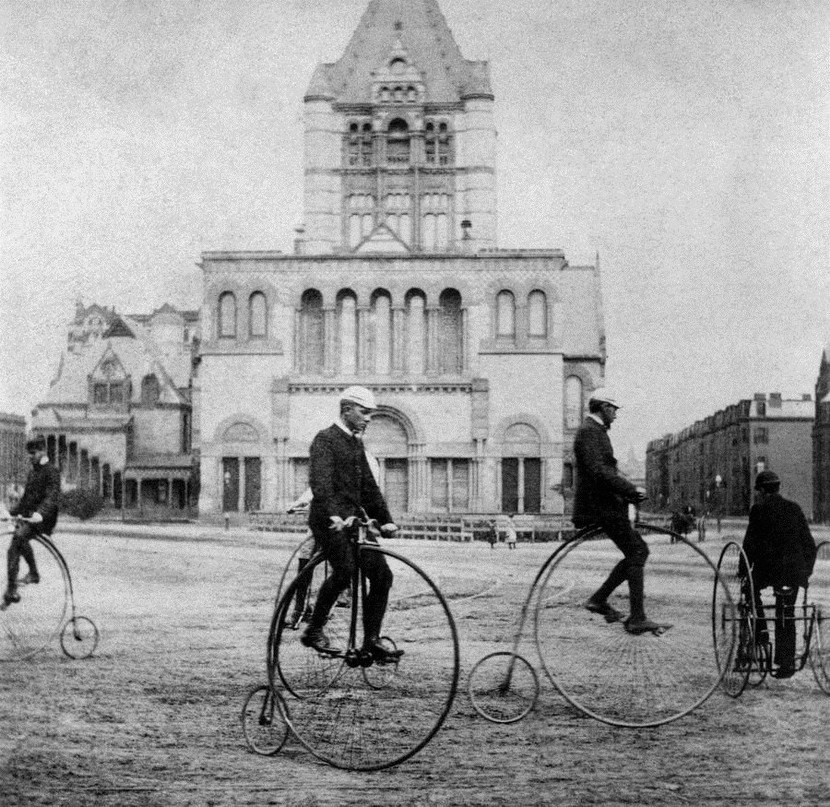 Penny Farthings/High-Wheeled Bicycles,Boston