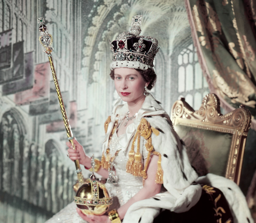QE II Coronation picture, 1950s