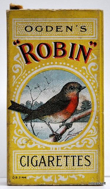 """""""Robin"""" cigarettes"""