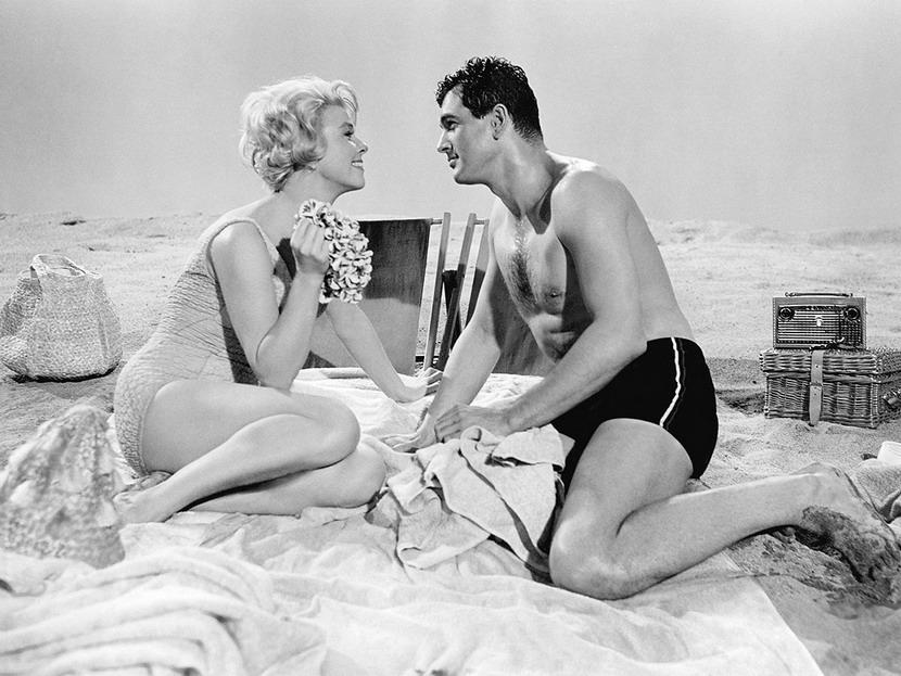 Doris Day and Rock Hudson,1961