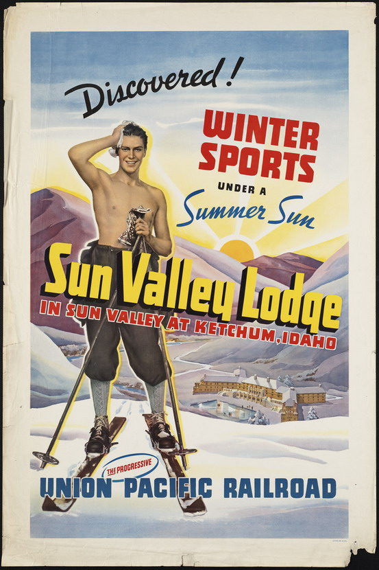 Vintage poster for Sun Valley, Idaho