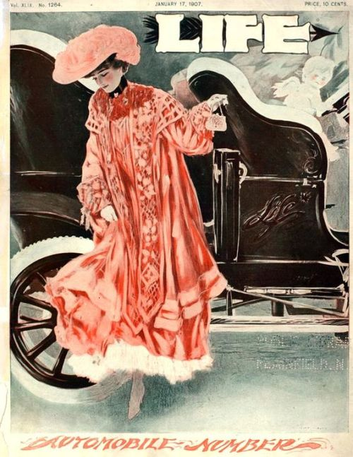 Life Magazine Automobile Issue, 1907