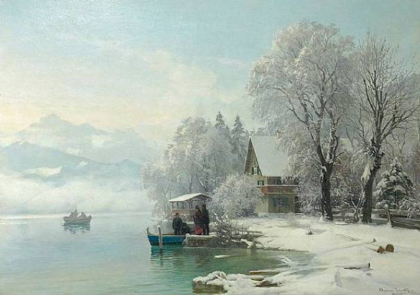 Painting by Danish painter Anders Andersen