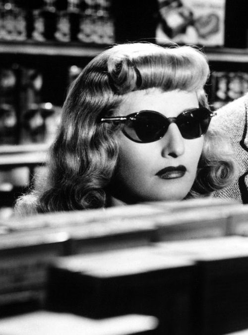 "Barbara Stanwyck in ""Double Indemnity"""