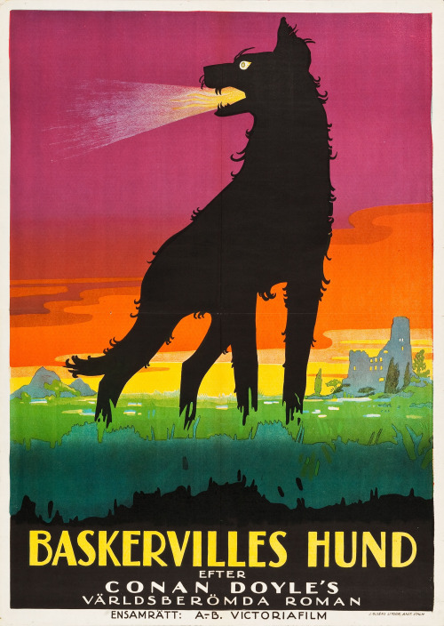 Baskerville Hund – German silent movie,1929