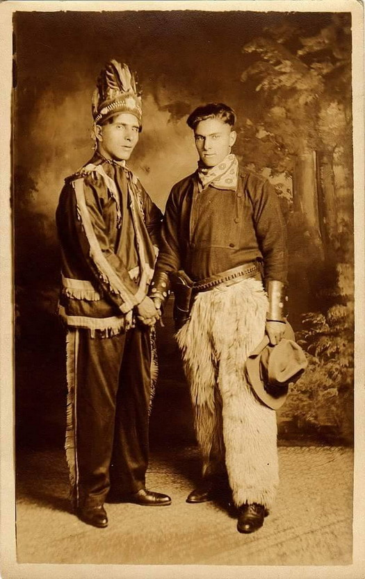"""""""Cowboy and Indian"""""""