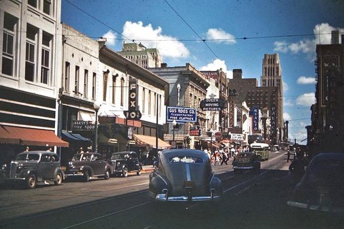 Dallas, Texas, 1945