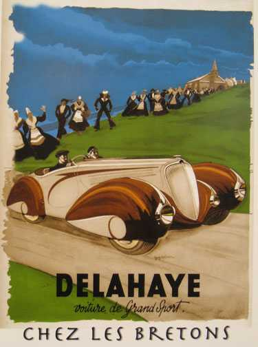 Delahaye – voiture de grand sport – Chez lesBretons