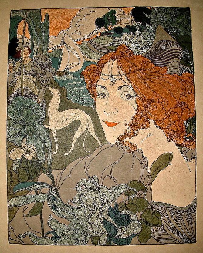 Illustration par Georges DeFeure