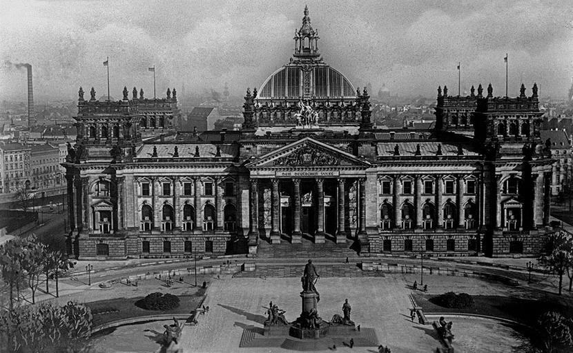 Reichstag, Berlin, 1890s