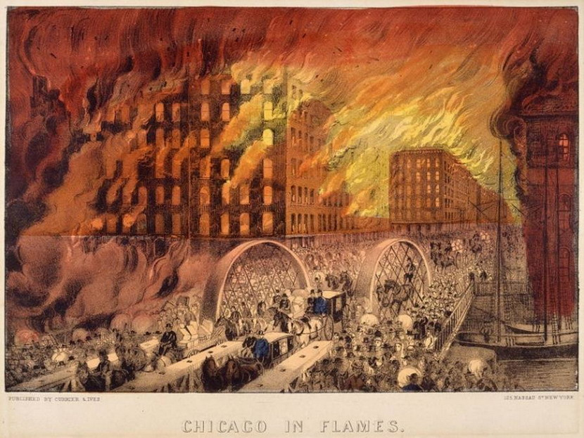 The Chicago Fire of1871