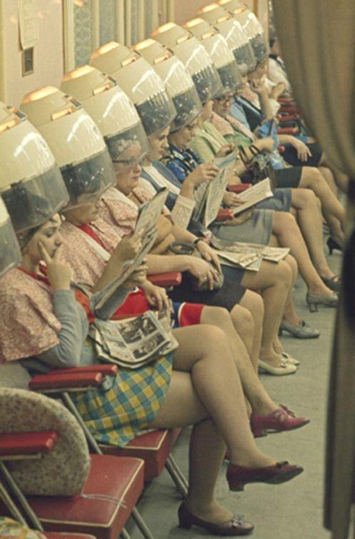 Hair salon, 1950s