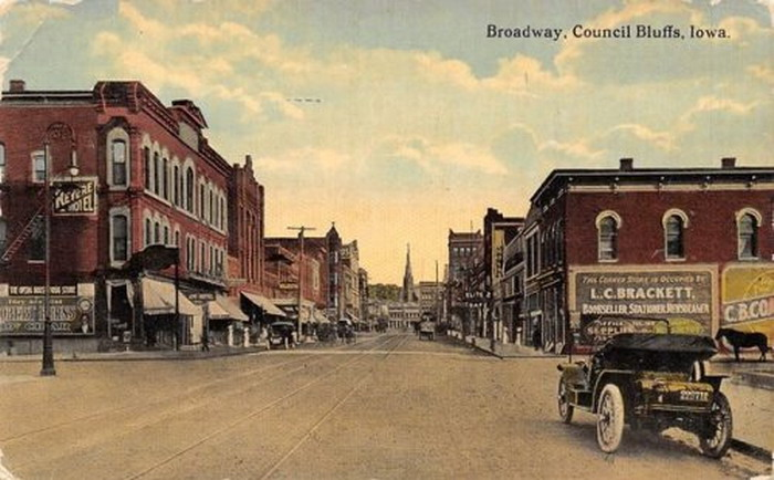 Council Bluffs, Iowa, circa 1905