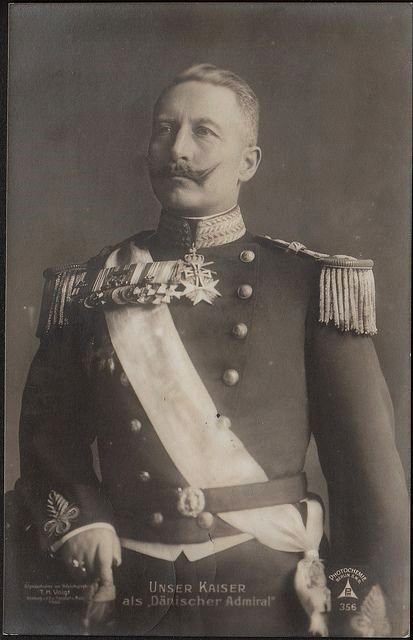 Kaiser Wilhelm II in Danish naval uniform