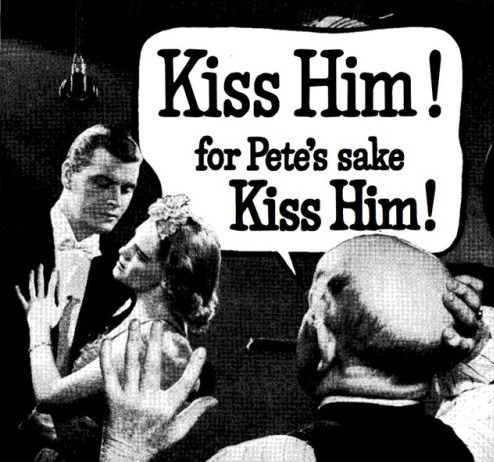 For Pete's sake, kisshim!