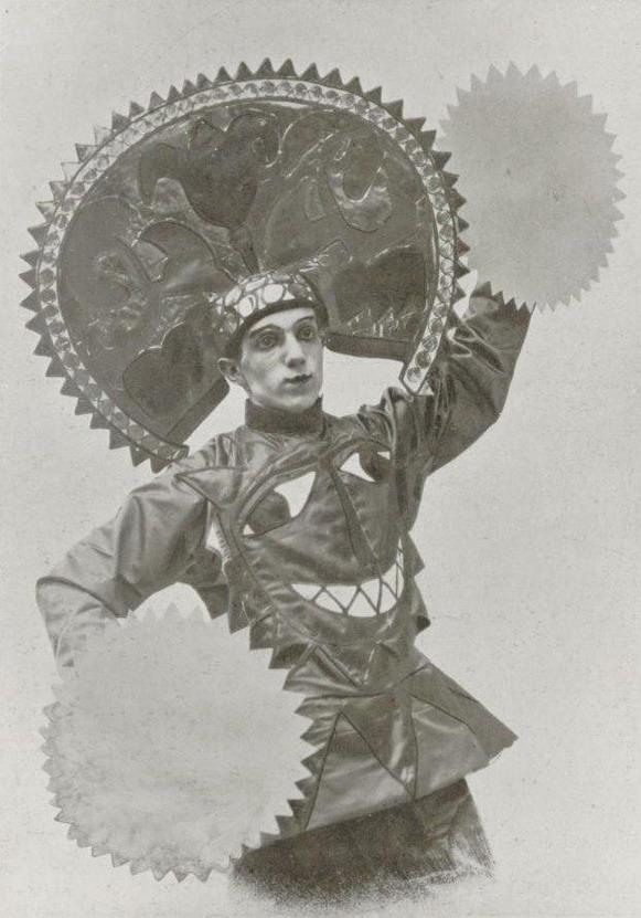 Leonide Massine, 1915