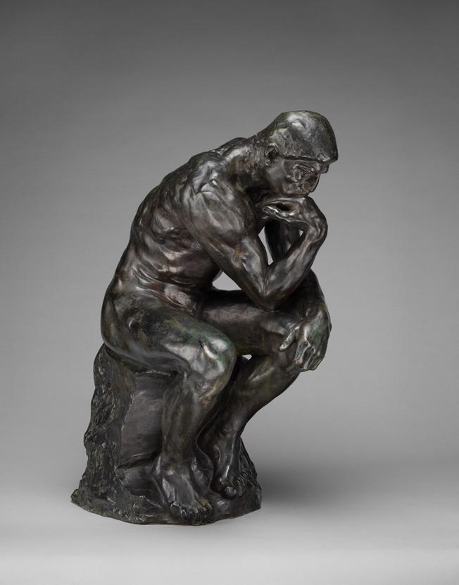 "Auguste Rodin ""LePenseur"""