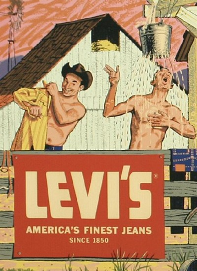 Old Levi's Jeans Ad
