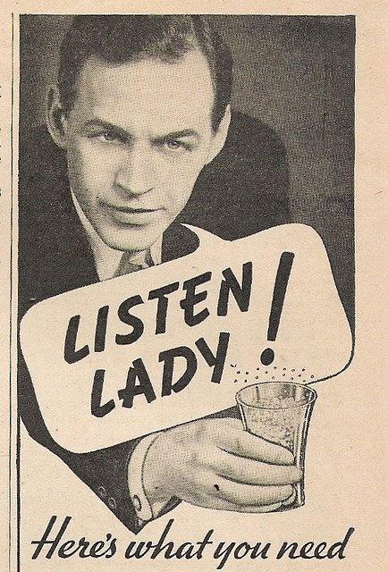 Listen, lady!
