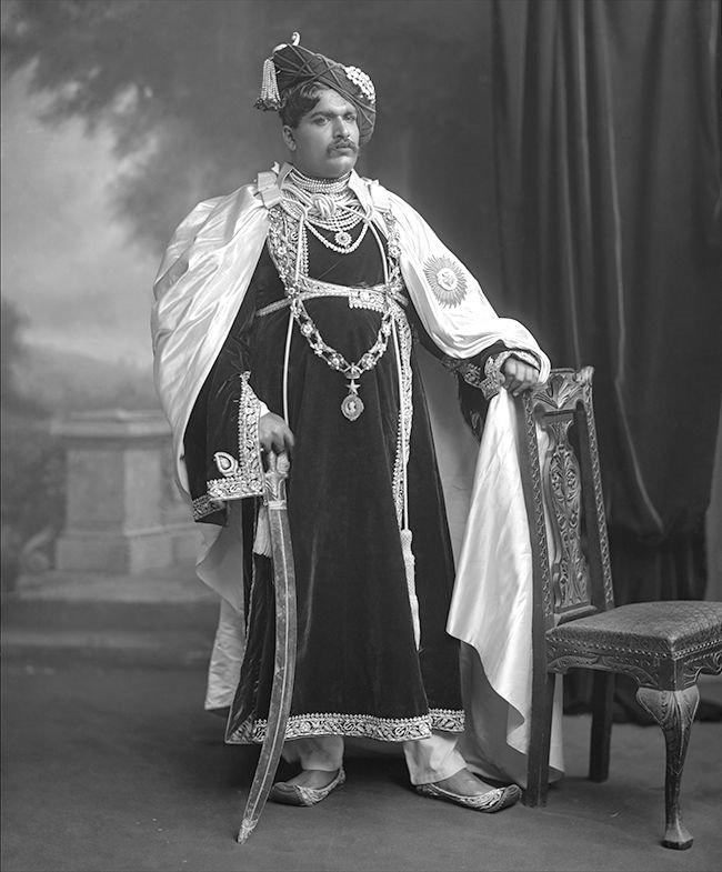 The Maharaja of Kolhapur, India