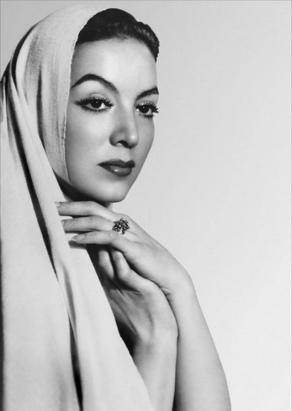 Mexican Actress María de los Ángeles FélixGüereña
