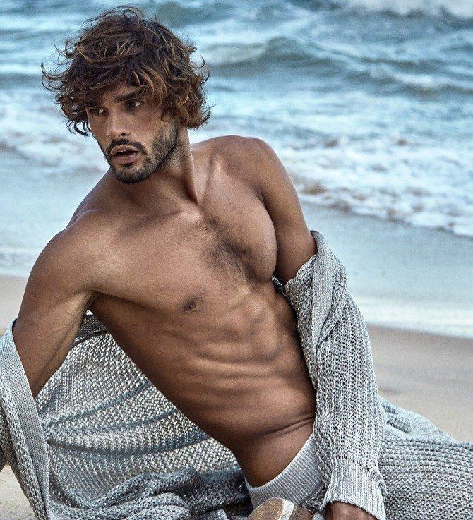Brazilian model MarlonTeixeira