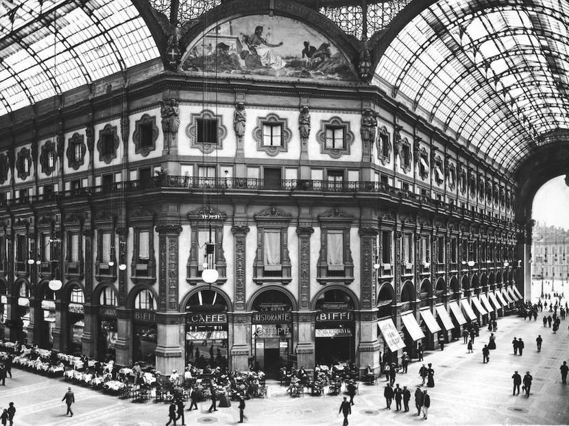 Galleria Vittorio Emanuele II, Milano, Italia,1913