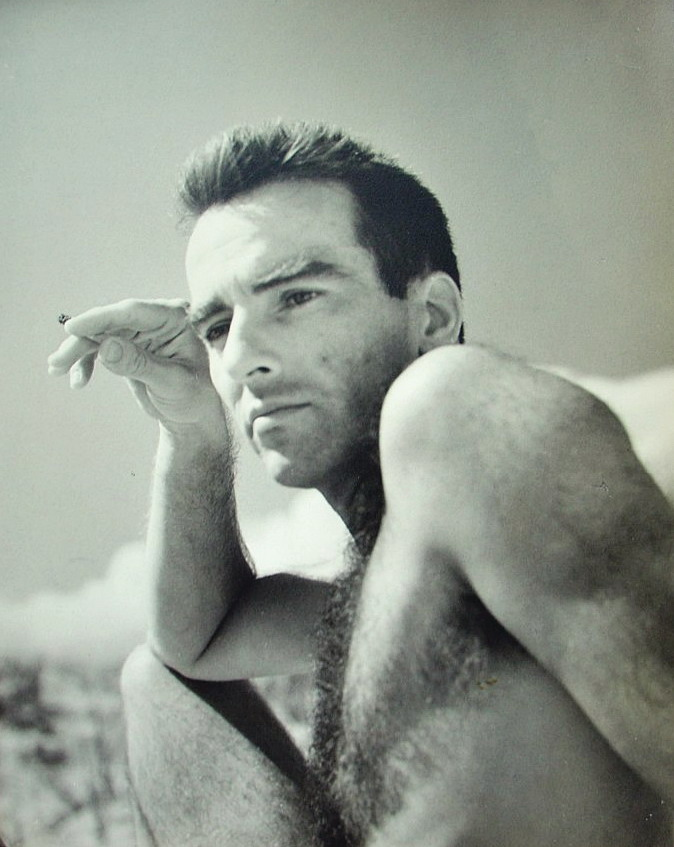 Montgomery Clift shirtless