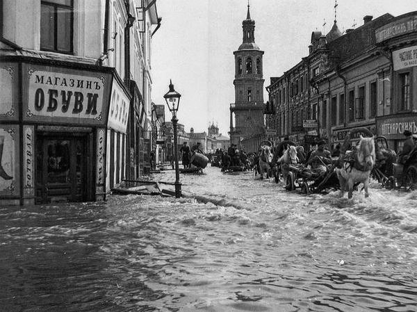 The Great Moscow Flood of 1908