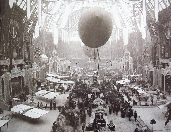 Salon de Locomation Aerienne, Grand Palais, Paris, 1909