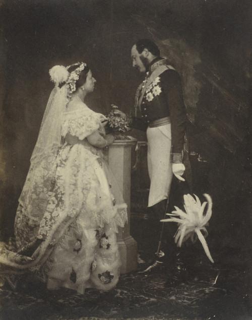 Queen Victoria and Prince Albert,1850s
