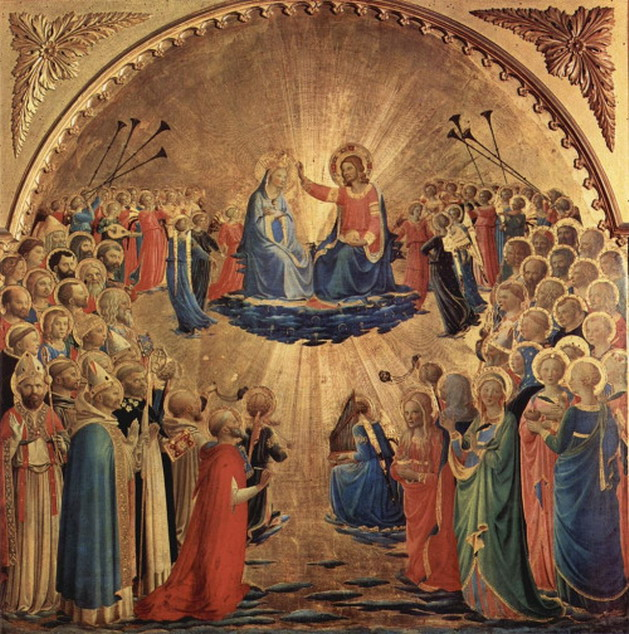 """Coronation of the Virgin"" by Fra Angelico"