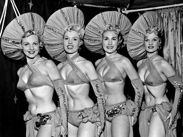 Las Vegas show girls, circa1950