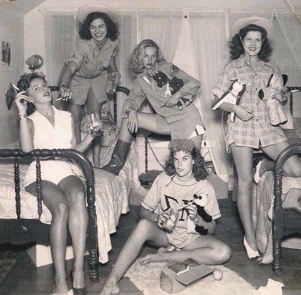 Sorority sisters, Dallas, Texas,1940s