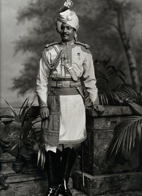 Thakur Hari Singh, Maharaja of Jodhpur, India, in England for Queen Victoria's Diamond Jubilee, 1800s