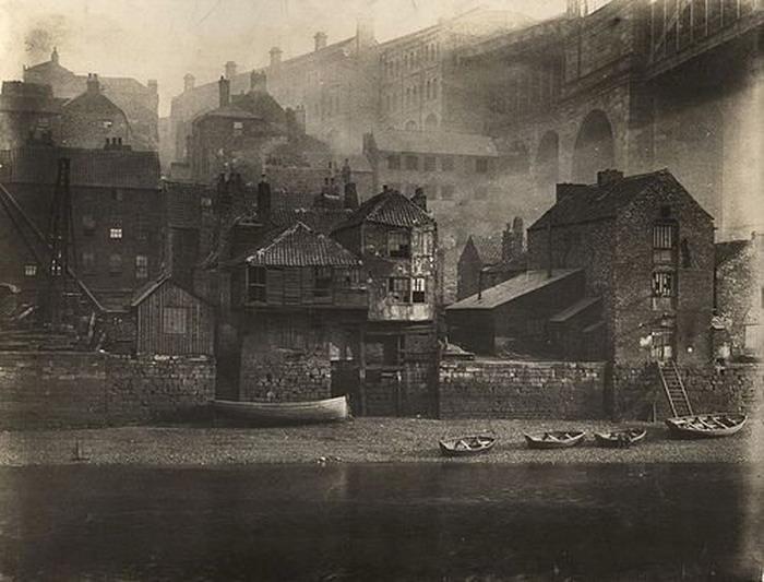 Newcastle, UK, mid-1800s