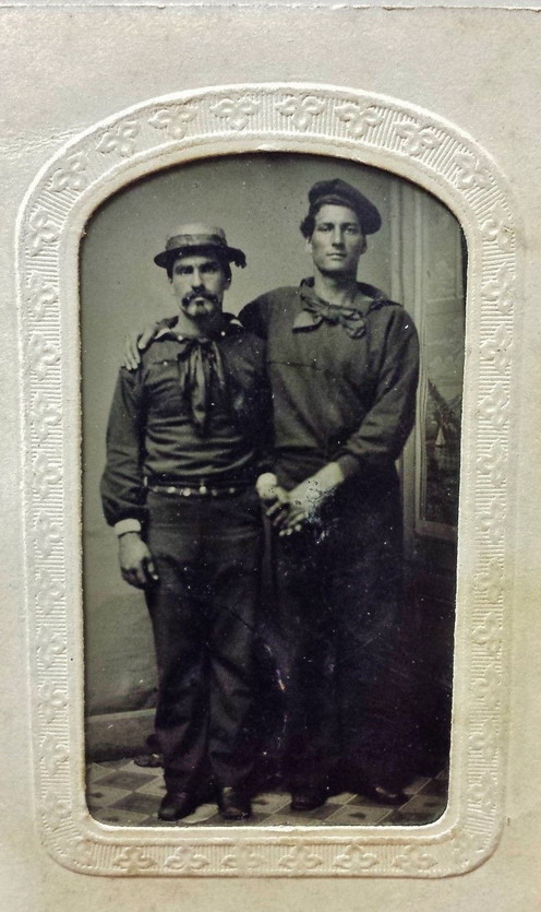 Men Together, US Civil War era, 1860s