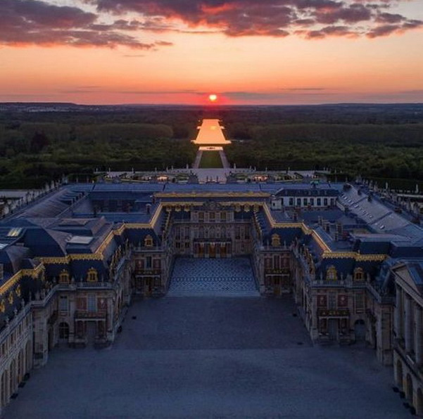 Sunset at Versailles