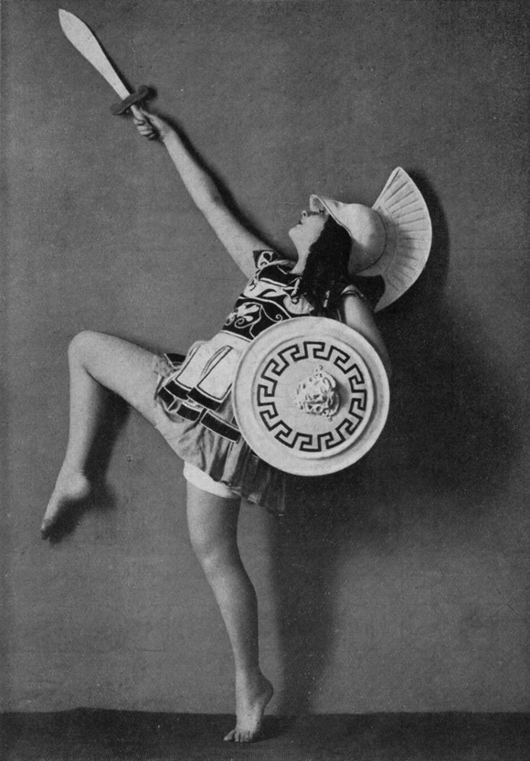 Ileana Leonidiff as Achilles,1919