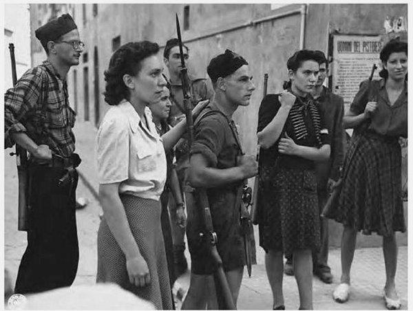 Italian resistance (anti-fascist partisans), WWII,1940s