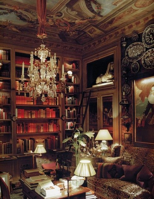 Yves St. Laurent's apartment in Paris