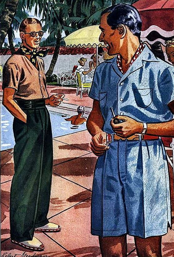 1930s tropical/summer wear for men