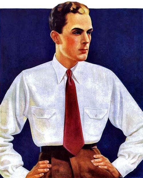 Men's fashion, 1930s