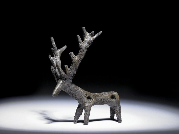 Ancient Persian Deer Pendant
