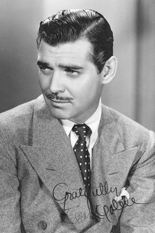 Gratefully, Clark Gable