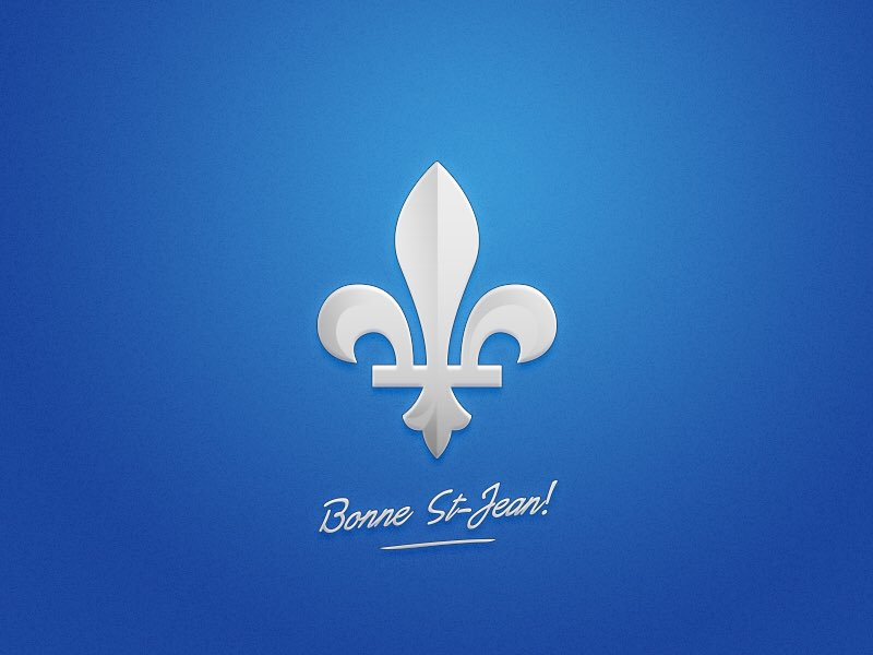 Bonne Fete Nationale, Quebec!